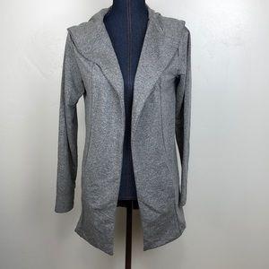 SPLASH Long Gray Sweater Cardigan w Long Sleeves